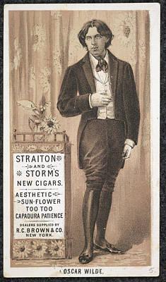 Oscar Photograph - Oscar Wilde by British Library