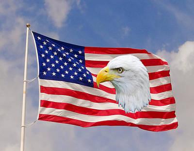 Our Flag Original by Dennis Dugan