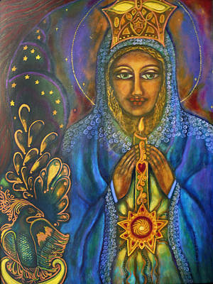 Our Lady Of Starglow Stillness Original by Marie Howell Gallery