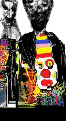 Digital Art - Outside The Circus by Ruth Clotworthy