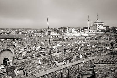 Er Photograph - Overlooking The Grand Bazaar In Istanbul by For Ninety One Days