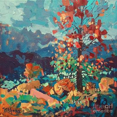 Ozark Autumn Print by Micheal Jones