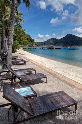 Rocky Digital Art - Pangkor Laut by Adrian Evans