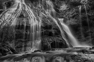 Panther Falls Print by Keith Kapple