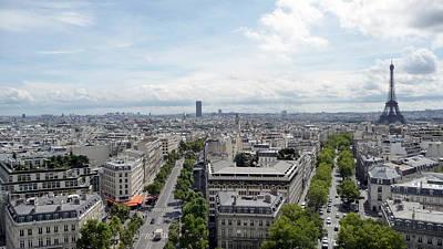 City Photograph - Paris #4 by Ikki Jorgensen