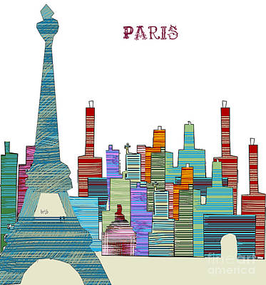 Paris Print by Bri B