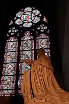 Roman Photograph - Paris France - Notre Dame De Paris - 011312 by DC Photographer