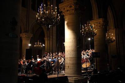 Detail Photograph - Paris France - Notre Dame De Paris - 01136 by DC Photographer