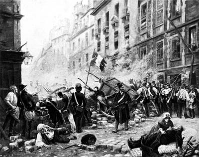 Cain Painting - Paris Revolution Of 1830 by Granger