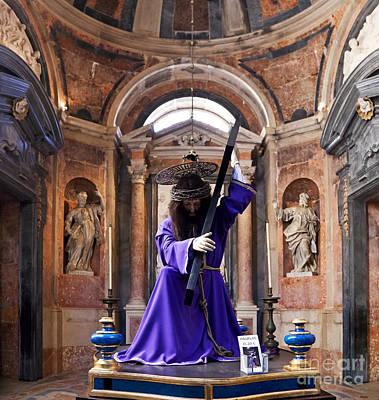 Religious Art Photograph - Passion Of Christ by Jose Elias - Sofia Pereira