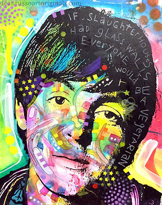 Painting - Paul Mccartney by Dean Russo