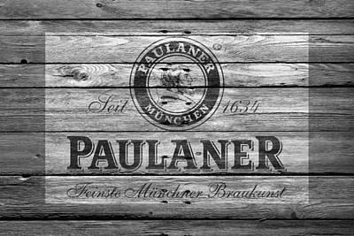 Handcrafted Photograph - Paulaner by Joe Hamilton