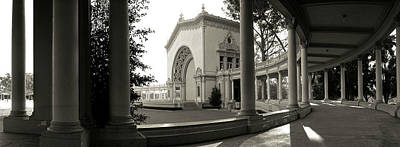 Pavilion In A Park, Balboa Park, San Print by Panoramic Images