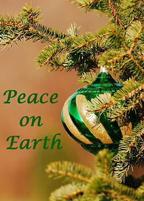 Peace On Earth 2 Print by Francie Davis