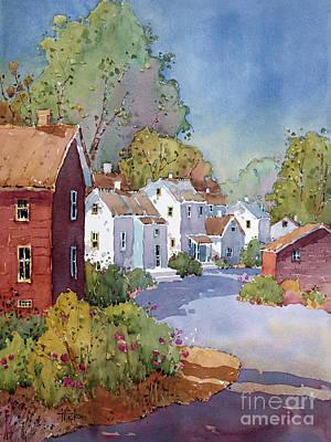 Painting - Peonies In Pennsylvania by Joyce Hicks