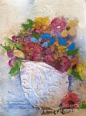 Petals And Blooms Original by Sherry Harradence