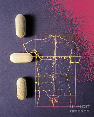 Anatomic Photograph - Pharmaceutical Therapy by Dennis D. Potokar