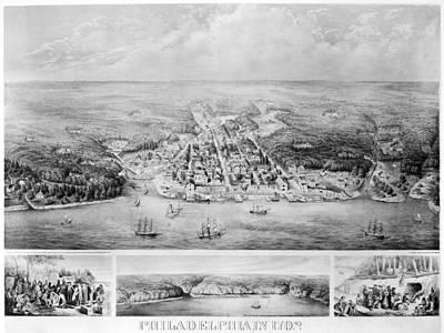 Philadelphia, 1702 Print by Granger
