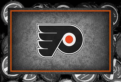 Hockey Photograph - Philadelphia Flyers by Joe Hamilton