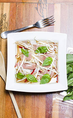 Pho Vietnamese Rice Noodle Soup Print by Jorgo Photography - Wall Art Gallery