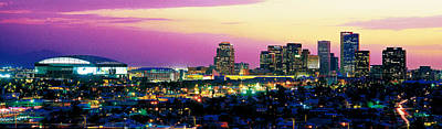 City Center Photograph - Phoenix Az by Panoramic Images