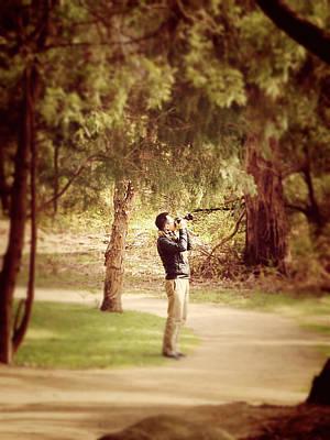 Trees Photograph - Photographer by Girish J