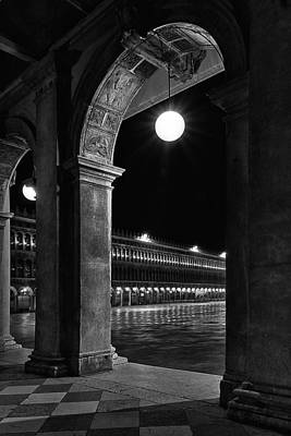 Piazza San Marco Photograph - Piazza San Marco 2 by Marion Galt