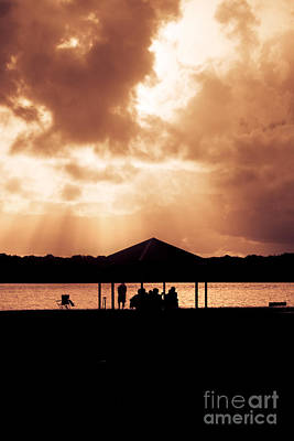 Family Gathering Photograph - Picnic Silhouettes by Jorgo Photography - Wall Art Gallery