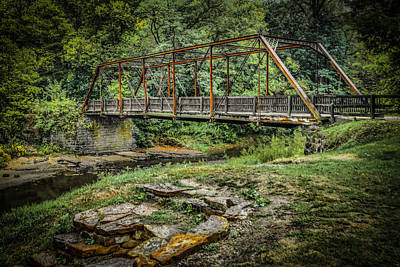 Muscatine Photograph - Pine Creek Bridge by Ray Congrove