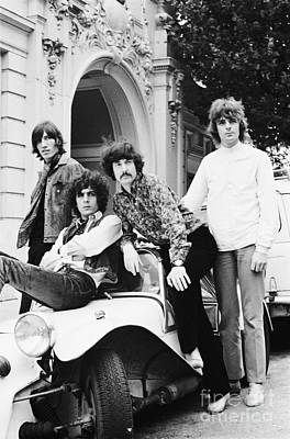 Pink Photograph - Pink Floyd 1967 by Chris Walter
