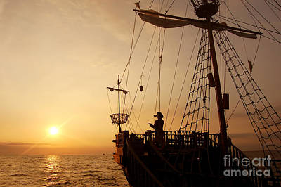 Infinite Photograph - Pirate Ship by Michal Bednarek