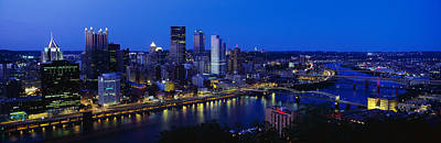Pittsburgh Pa Print by Panoramic Images