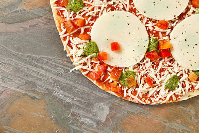 Pizza Print by Tom Gowanlock