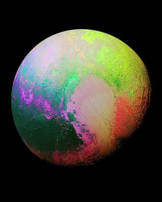 Pluto Print by Nasa/jhuapl/swri