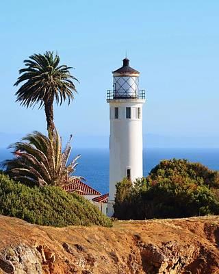 Lighthouse Photograph - Point Vicente Lighthouse by David Lobos