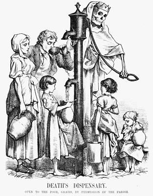 Pollution Cartoon, 1866 Print by Granger