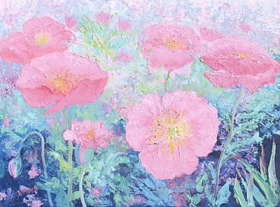 Poppy Garden Print by Jan Matson