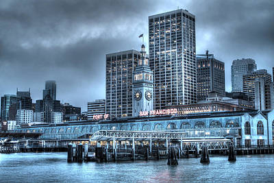 Piers Photograph - Port Of San Francisco by SC Heffner
