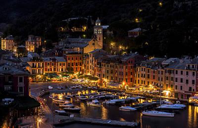 Portofino Italy - Hi Res Print by Carl Amoth