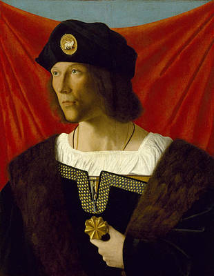 Bartolomeo Veneto Painting - Portrait Of A Man by Bartolomeo Veneto