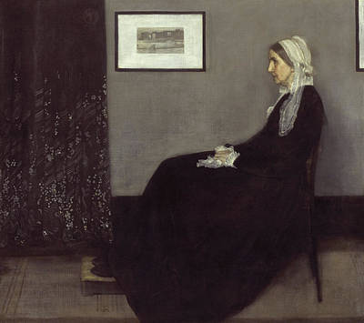 James Abbott Mcneill Whistler Painting - Portrait Of The Artists Mother by James Abbott McNeill Whistler