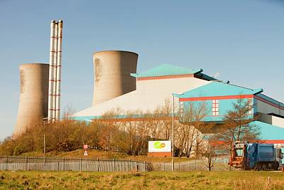 Waste Photograph - Power From Waste Plant by Ashley Cooper