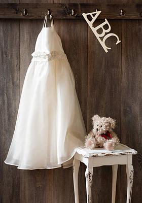 Teddie Photograph - Pretty Dress by Amanda Elwell
