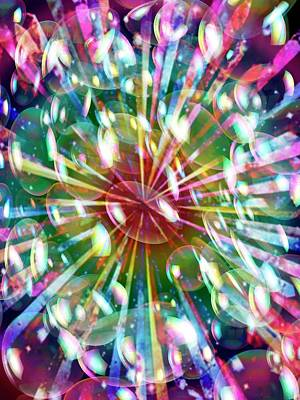 Bright Colours Photograph - Psychedelic Patterns by Victor De Schwanberg
