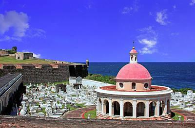 El Morro Photograph - Puerto Rico, San Juan, Fort San Felipe by Miva Stock