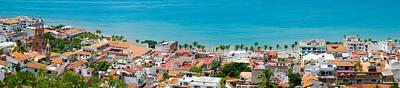 Puerto Vallarta Photograph - Puerto Vallarta by Aged Pixel