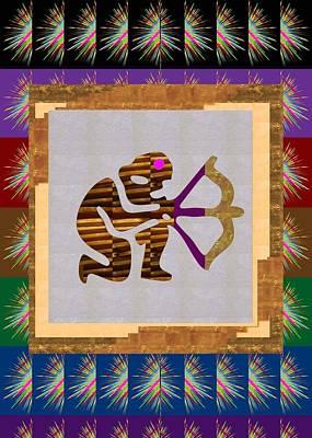 Pure Decorations Zodiac Symbol Art Print by Navin Joshi