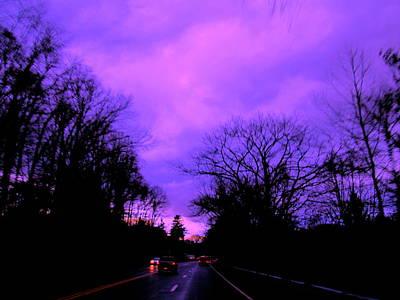 Purple Haze Print by Allen n Lehman