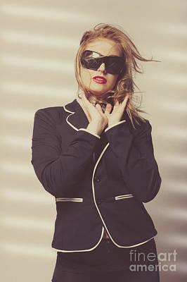 Quality Fashion Portrait Of Stylish Girl In Studio Print by Jorgo Photography - Wall Art Gallery