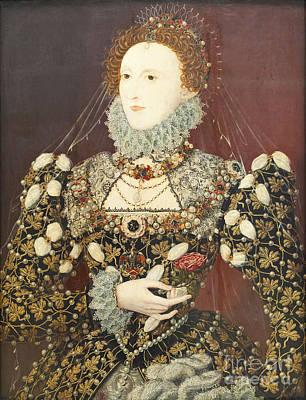 Queen Elizabeth I Print by Roberto Morgenthaler